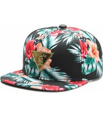 boné cayler and sons snapback gold flowers cap - masculino