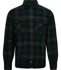 plesent hill skjorta casual grön dickies