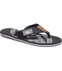 simon 8 shoes summer shoes flip flops svart tommy hilfiger