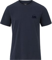 t-shirt ss tonal flock logo