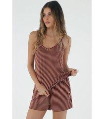 pijama para mujer topmark, conjunto fondo entero