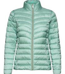 jackets outdoor woven kviltad jacka grön esprit collection