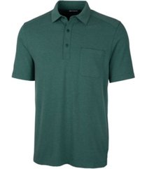 cutter & buck men's advantage jersey polo shirt