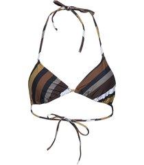 recycled printed swimwear bikinitop multi/patroon ganni