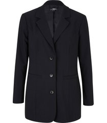 blazer lungo in bengalina (nero) - bpc bonprix collection