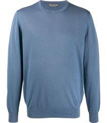 corneliani classic sweatshirt - blue