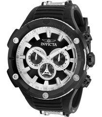 reloj invicta negro modelo 295nc para hombre, colección bolt