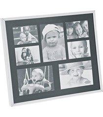 porta retrato aluminio - fundo preto - 7 fotos