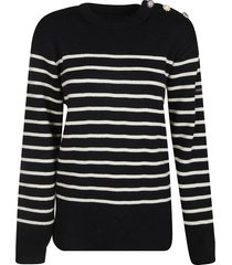 marc jacobs embellished stripe sweater
