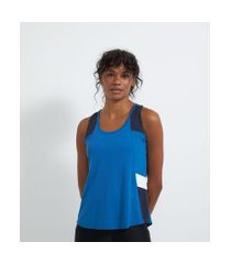regata esportiva air fit com recortes | get over | azul | m