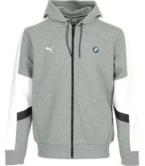 trainingsjack puma bmw mms hooded sweat jacket