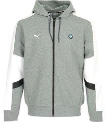 trainingsjack puma bmw mms hooded sweat jacket