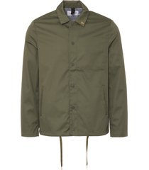 farah military green marr coach jacket f4rs8043