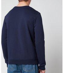 a.p.c. men's item sweatshirt - dark navy - s