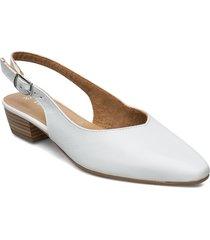 woms sling back shoes heels pumps sling backs creme tamaris