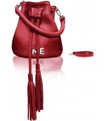 torba worek bolsa medium red