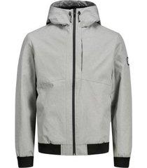 windjack jack & jones 12175791 jcojoe jacket noos light grey melange