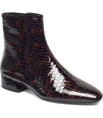 joyce shoes boots ankle boots ankle boot - heel brun vagabond