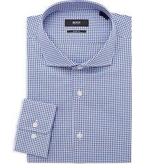 mark sharp-fit check dress shirt