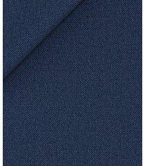 pantaloni da uomo su misura, loro piana, blu notte grisaglia, quattro stagioni | lanieri