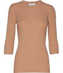 alvin slim stickad tröja beige designers, remix