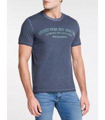 camiseta masculina we are the new youth marinho calvin klein jeans - p