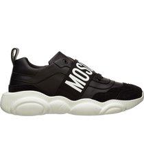 scarpe sneakers uomo in pelle teddy