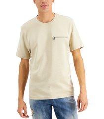 inc international concepts men's ottoman stripe pocket t-shirt, created for macy's