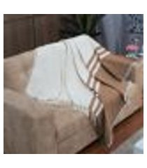 manta para sofá orquídea - 150 x 140 cm ráfia