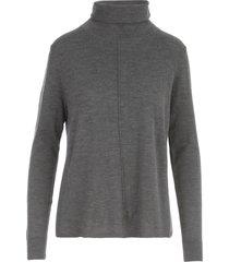 aspesi asymmetric turtle neck sweater