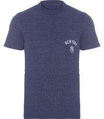 camiseta masculina premium pocket neyyan - azul