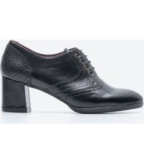 tacones casuales mujer freeport z09d negro