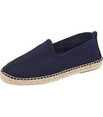skor babista marinblå
