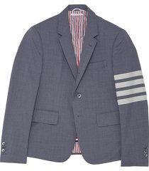 four bar plain weave blazer