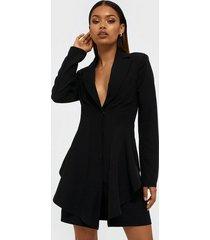 nly trend frill suit dress skater dresses
