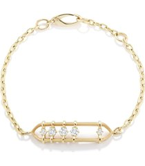 penelope floating diamond bracelet