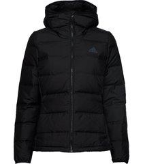 helionic down jacket w gevoerd jack zwart adidas performance