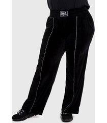 pantalón everlast super  negro - calce holgado