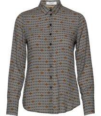 blouse long-sleeve blus långärmad multi/mönstrad gerry weber edition