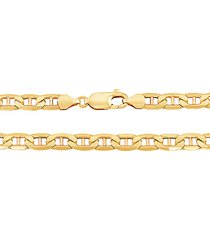 14k yellow gold mariner chain necklace