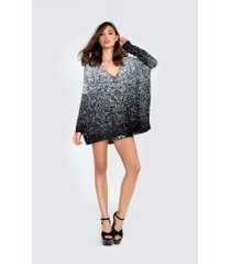 pixel party batwing tunic
