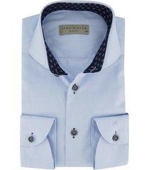 john miller mouwlengte 7 overhemd lichtblauw