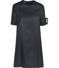 prada gabardine dress