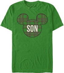 fifth sun men's son holiday patch short sleeve t-shirt