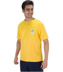 camiseta copa américa 2019 torcida ii - masculina - amarelo