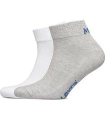 levis mid cut sprt sock unisex 2p ankelstrumpor korta strumpor grå levi´s