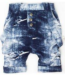 szorty jeans second