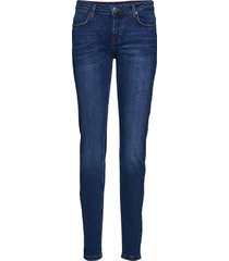 amber-je-tronic-dark blue slimmade jeans blå free/quent