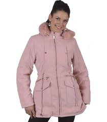 chaqueta gabardina rosado alexandra cid