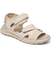 exowrap w shoes summer shoes flat sandals beige ecco